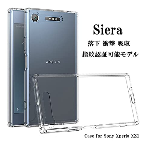 c0abde6fa3 Amazon | 【Siera】SONY Xperia XZ1 ケース [指紋認証可能モデル/全面 ...