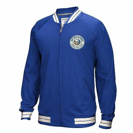 watch 5b1d5 a1c3f Amazon.com : CCM New York Islanders NHL Blue Full Zip ...