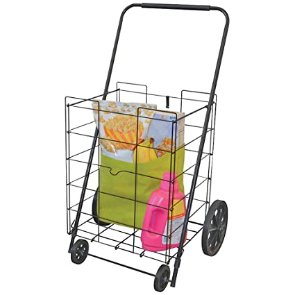 9384337cfcd4 Amazon.com: HELPING HAND FQ39520FD 4-Wheel Deluxe Folding Cart Home ...