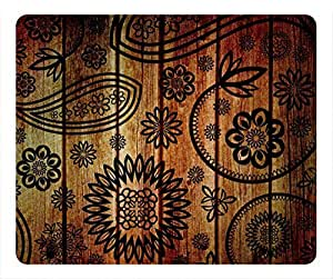 Wood colorful Masterpiece Limited Design Oblong Mouse Pad by Cases & Mousepads by lolosakes