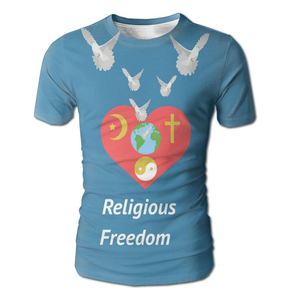 National Religious Freedom Day Doves Atlanta Tshirt Men Tee T Shirt