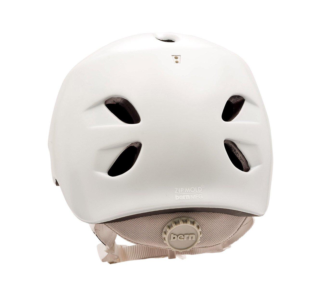 Bern Berkeley MSRP Half Shell - Cascos para Bicicleta (Hard Shell, Fijo, Mujer, Turquesa, Violeta, Color Blanco, Half Shell, CPSC, ASTM F 2040, ...