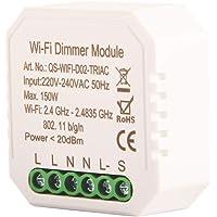 WiFi dimmer Smart Light Switch Module DIY Schakelaar Smart Life / Tuya APP afstandsbediening, werken met Alexa Echo…