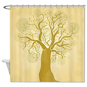 Amazon Sunningq Life Of Brown Tree Waterproof Polyester Fabric