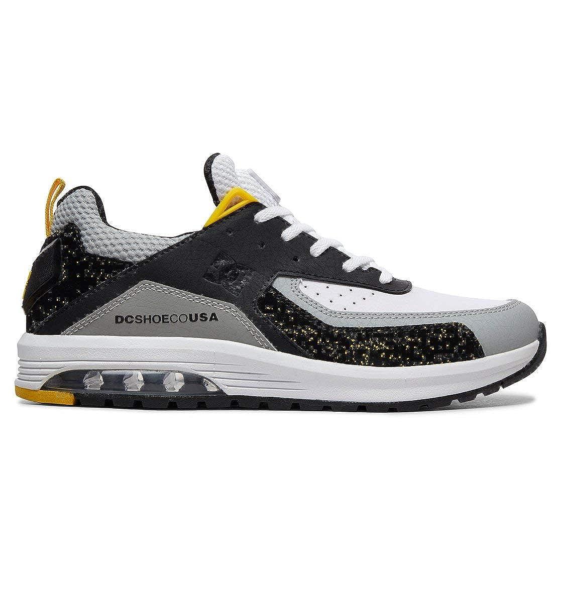 Noir - noir gris jaune DC chaussures Vandium Se - Baskets pour Homme ADYS200067 44 EU