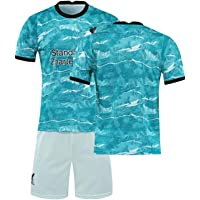 LCHENX -Män 2021 Liverpool fotbollsklubb # 10 Sadio Mane fotbollsfans jersey set