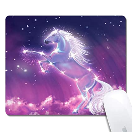 Amazon Com Galaxy Horse Extended Ergonomic Gaming Mouse Pad