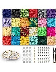 Kralen Set Katsuki Kralen 4800 stuks Sieraden Maken Kit Kralenset Zelf Sieraden Maken Kinderen, Meisjes & Volwassenen Pakket Sieraden Kit