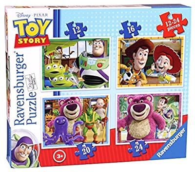 Ravensburger Toy Story 3 4 in a Box Puzzles