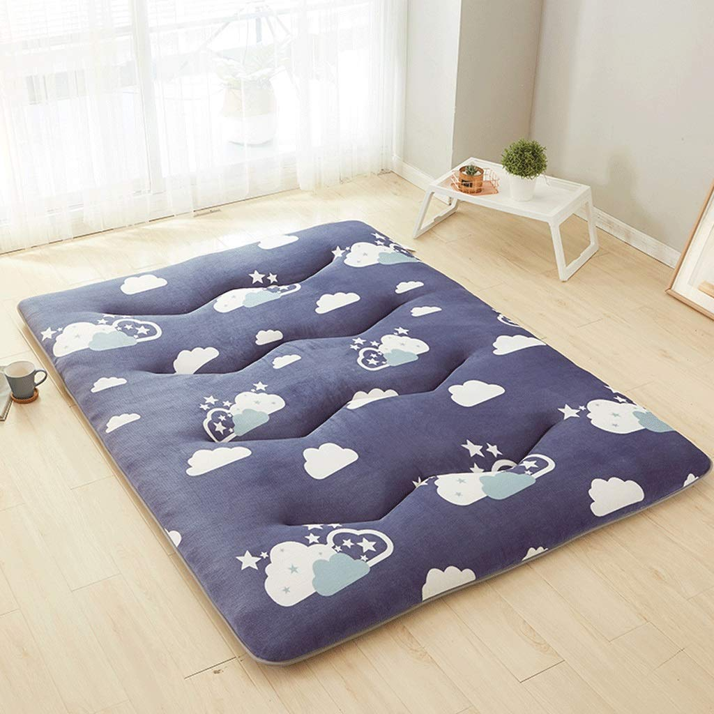 2 150X200cm Student Dormitory Mattress Household Tatami Moisture Breathable Mat (color   1, Size   150X200cm)
