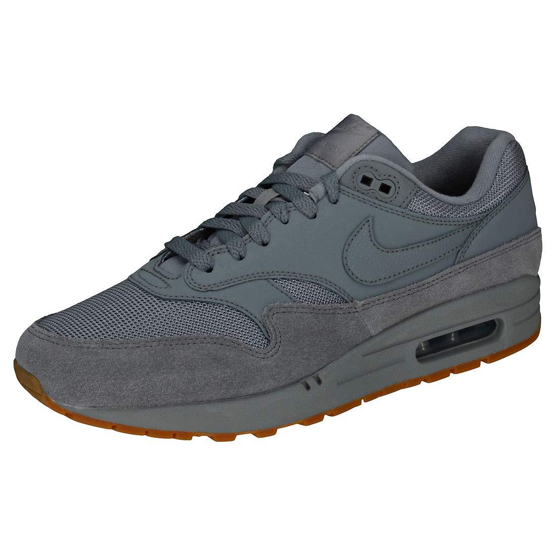 Nike Air MAX 1, Zapatillas de Gimnasia para Hombre 43 EU|Gris (Cool Grey/Cool Grey/Cool Grey 005)