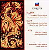 Glazunov: Seasons / Glinka: Ruslan & Ludmilla