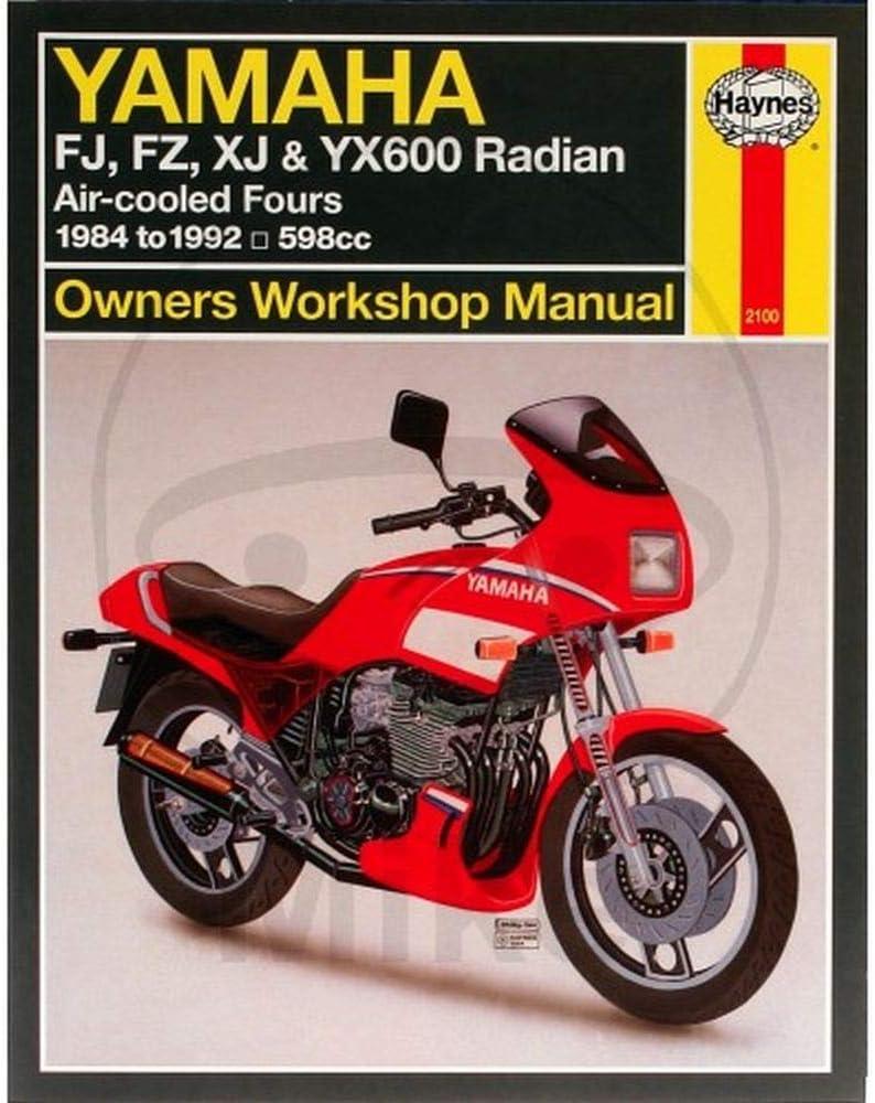 Yamaha XJ 600 H 3KM5 3KM 3KM-000101 3 2100 3 Haynes Reparaturanleitung Yamaha f
