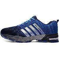 [SRUQ] 运动鞋 跑步鞋 徒步鞋 运动鞋 男士 女士 缓冲性 运动鞋 休闲鞋 训练鞋 轻便 透气 日常穿着用