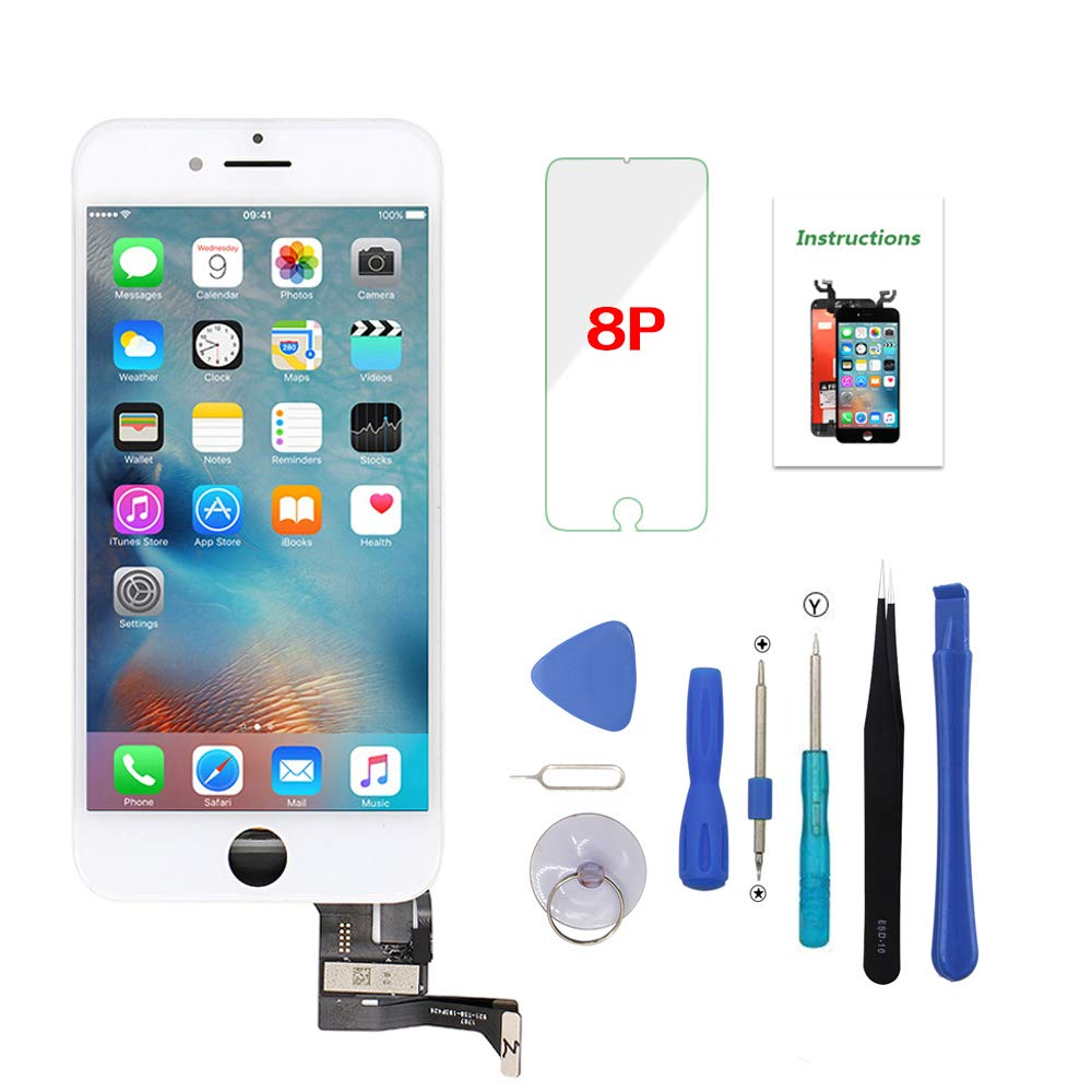 Modulo LCD Blanco para IPhone 8 Plus 5.5 Inch -882