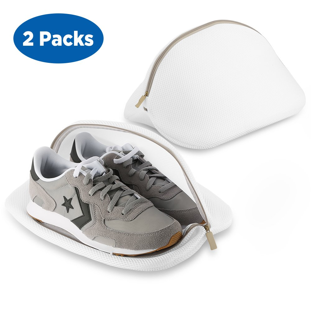 Ecooe Paquete de Bolsas Premium de Malla de Lavandería para Zapatos