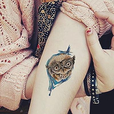 GYMNLJY Etiquetas engomadas del tatuaje Hombres y mujeres del ...
