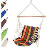 Jago Amaca a poltrona sedia sospesa con supporto multicolore