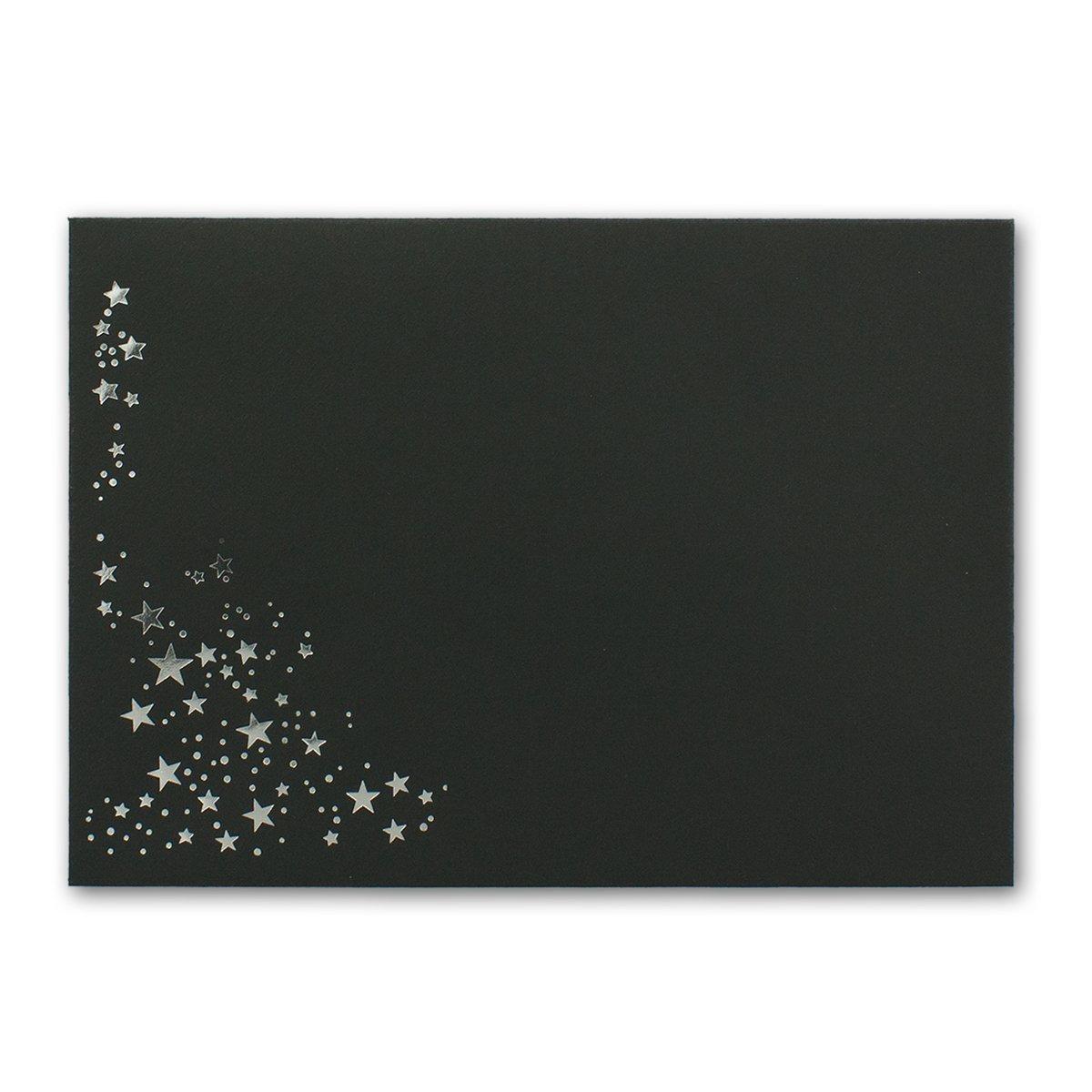 500x Weihnachts-Briefumschläge     DIN C5   mit Gold-Metallic geprägtem Sternenregen, festlich matter Umschlag in Sandbraun   Nassklebung, 120 g m²   157 x 225 mm   Marke  GUSTAV NEUSER® B07CHMJTJ1 | Berühmter Laden  | Ideales Geschenk f 43a635