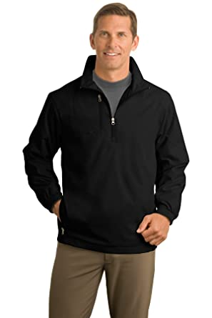 e5338805df Port Authority 1 2-Zip Wind Jacket. J703 at Amazon Men s Clothing store