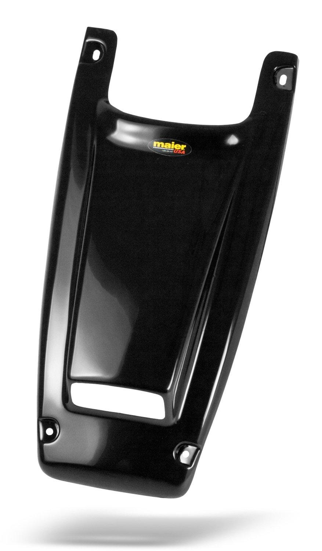 Maier USA Honda TRX250R Scooped Hood - Black Carbon Fiber - 50968-30