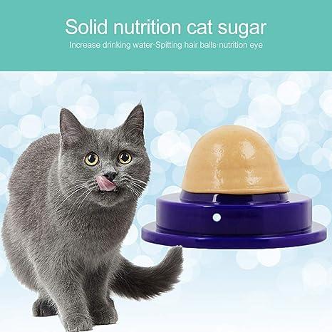 oobest - Pelota de Gato Saludable con Forma de Gato de azúcar ...