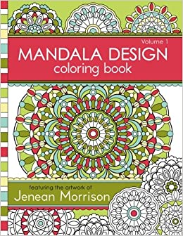 Mandala Design Coloring Book Volume 1 Jenean Morrison Adult Books