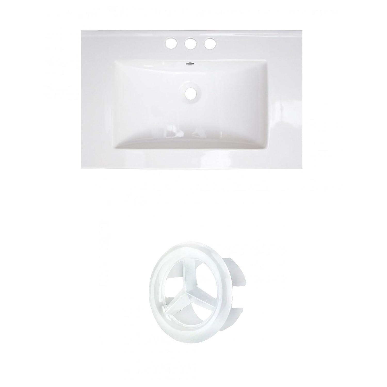 American Imaginations AI-888-21084 Ceramic Top Set White