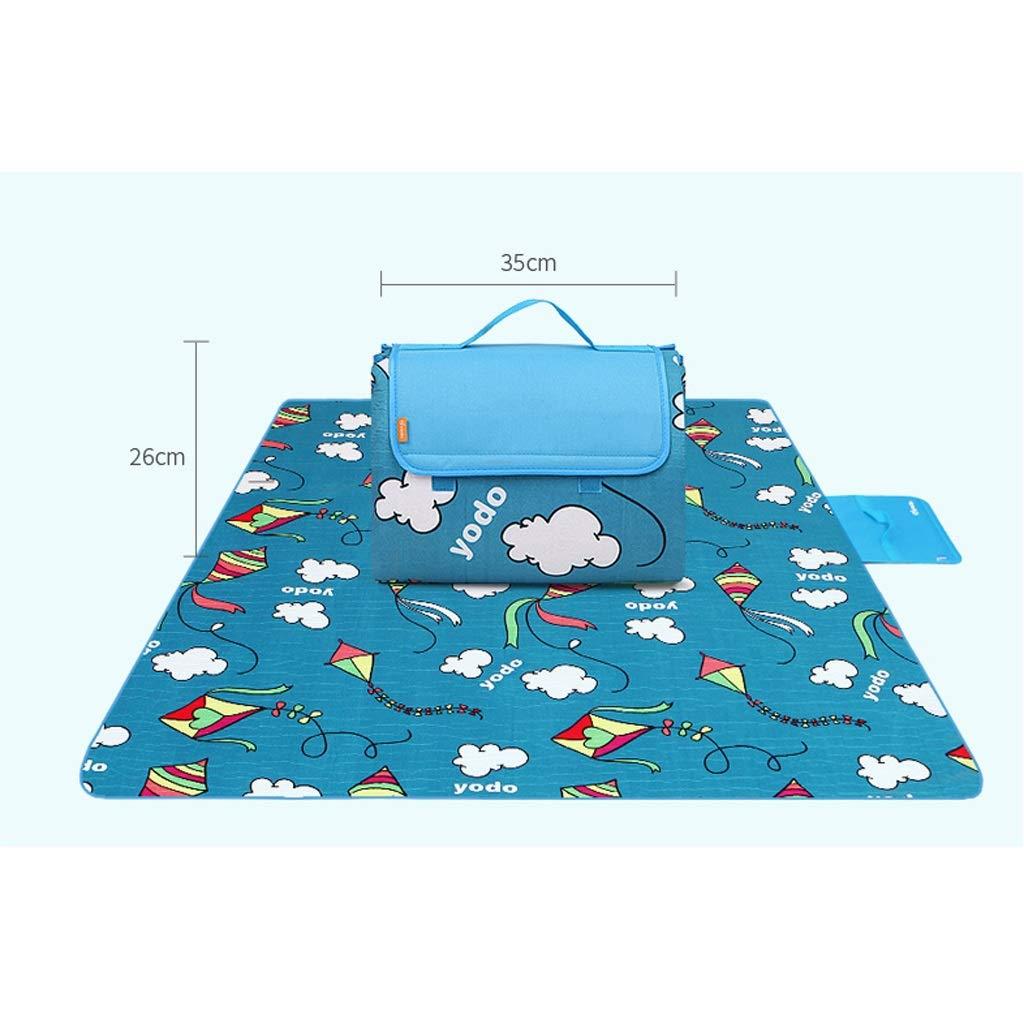 XUANLAN Outdoor Strand Picknick Falten Falten Falten Camping Mat Multiplayer Wasserdichte Schlaf Camping Pad Matte Feuchtigkeits Decke (Farbe   E) B07PGTRXBH | Verkauf Online-Shop  8a236d