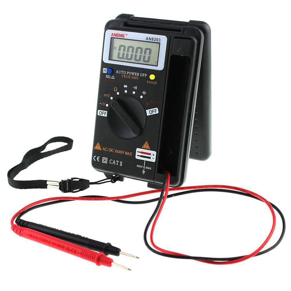 Slri Digital Multimeter, Professionelles integriertes Handheld Pocket Mini AC/DC Tester