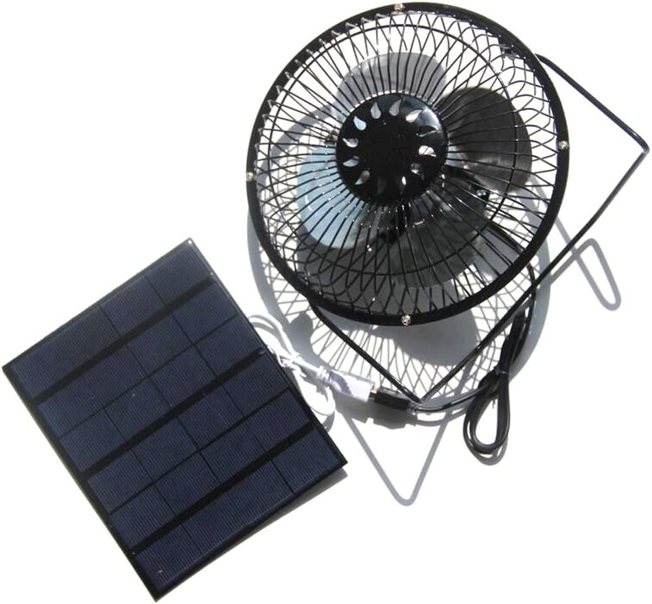 The Fan is Portable and Compact