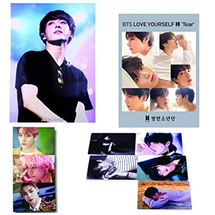 16.5 x 11.7 inches 5 Cards + 1 STICKER BTS Bangtan 12 PHOTO POSTERS