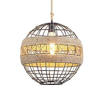 LRZZ Araña doméstica, Palacio de Cristal Lámpara de Techo, Lámpara de Pared de Hierro