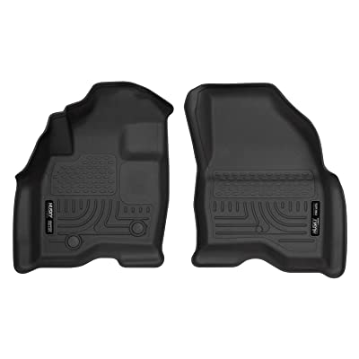 Husky Liners Fits 2015-19 Ford Explorer Weatherbeater Front Floor Mats: Automotive [5Bkhe0900156]
