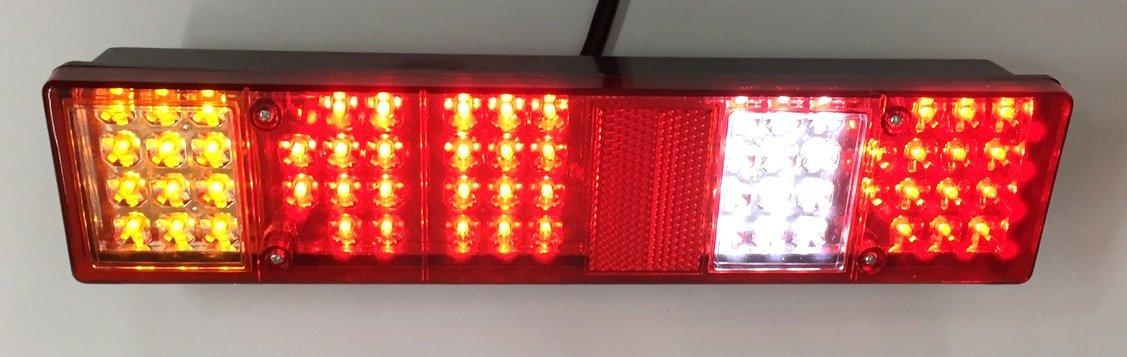 2/x Feu arri/ère 6/fonctions LED Lampes 12/V pour ch/âssis de camion remorque benne camping-car Camion