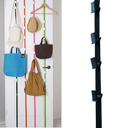 Iron Bag Cap Hanger Hanging Handbag Purse Scarf Organizer Storage Rack Over Door Closet Hanger Hook Space Saving Cabinet Holder Factory Direct Selling Price Home & Garden