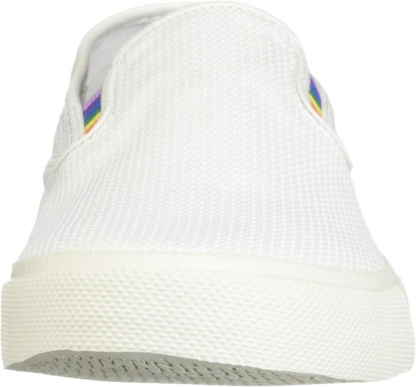 Sperry Top-Sider Captains Slip On Pride Sneaker Men 7.5 White