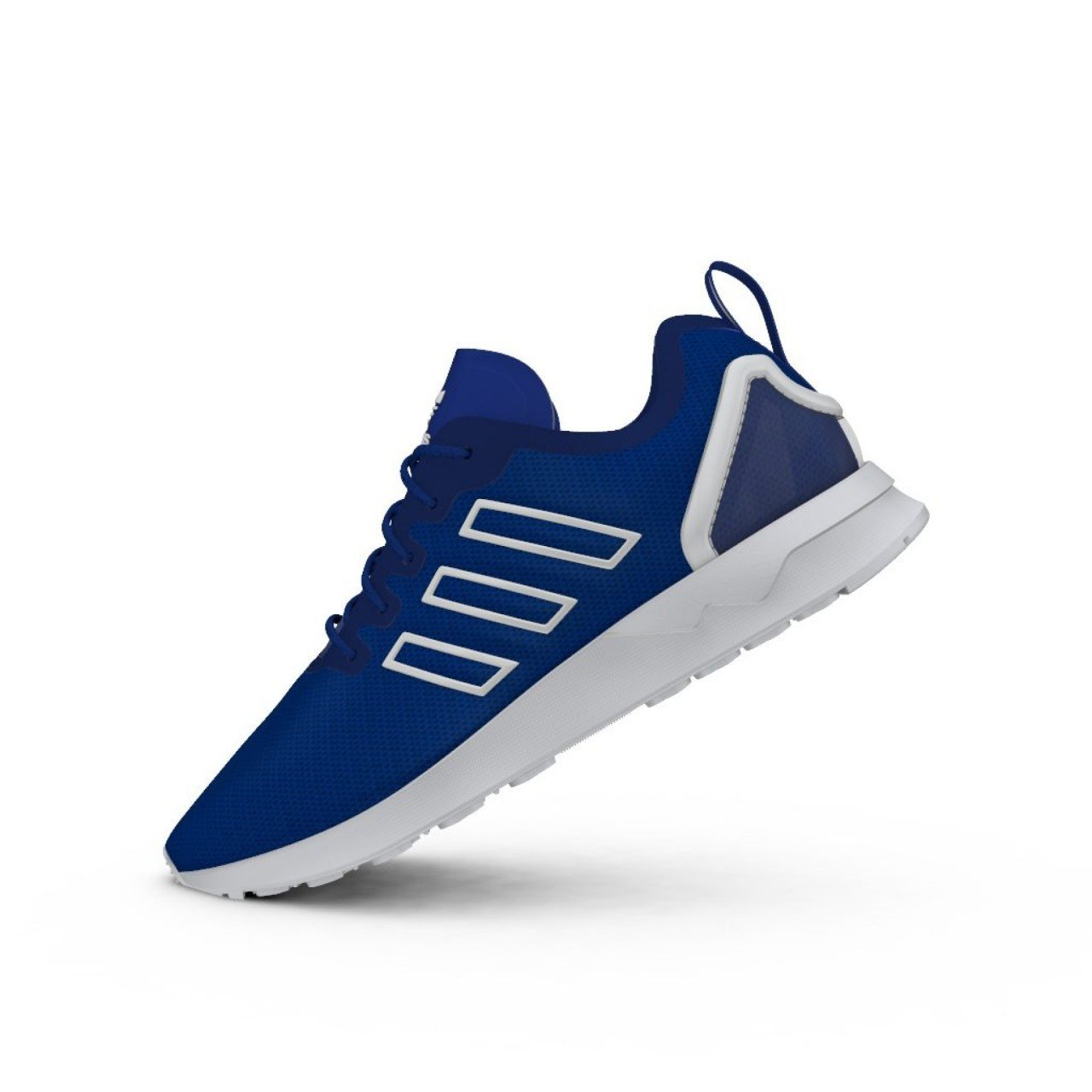 adidas ZX Flux ADV Shoes Bold Blue 5.5: Amazon.co.uk