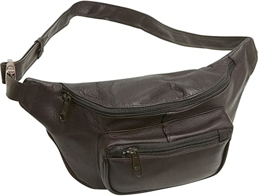 Caf/é Le Donne Leather Adults Waist Bag