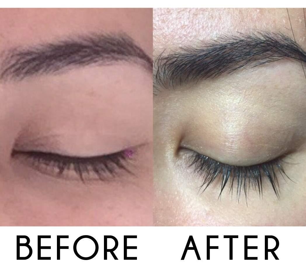 fea8685c119 Amazon.com: Eyelash Growth Serum Eyebrow Growth - Vegan Lash Boost 8,5 ML -  Best Eyelash Conditioner - Brow Enhancer - USA Made Irritaion Free Formula:  ...