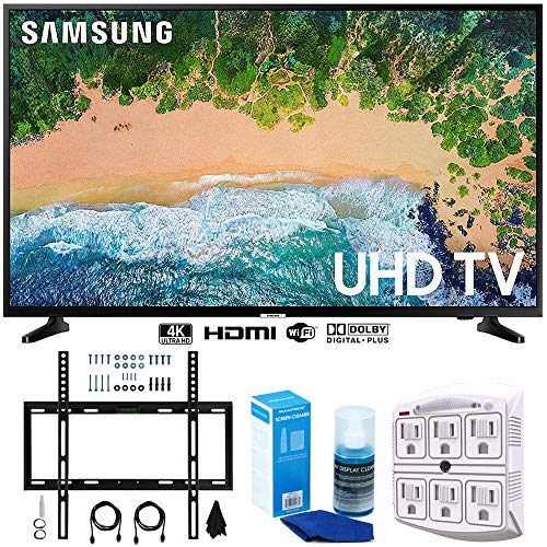 "Samsung UN55NU6900 55"" NU6900 Smart 4K UHD TV  w/Wall Mount"