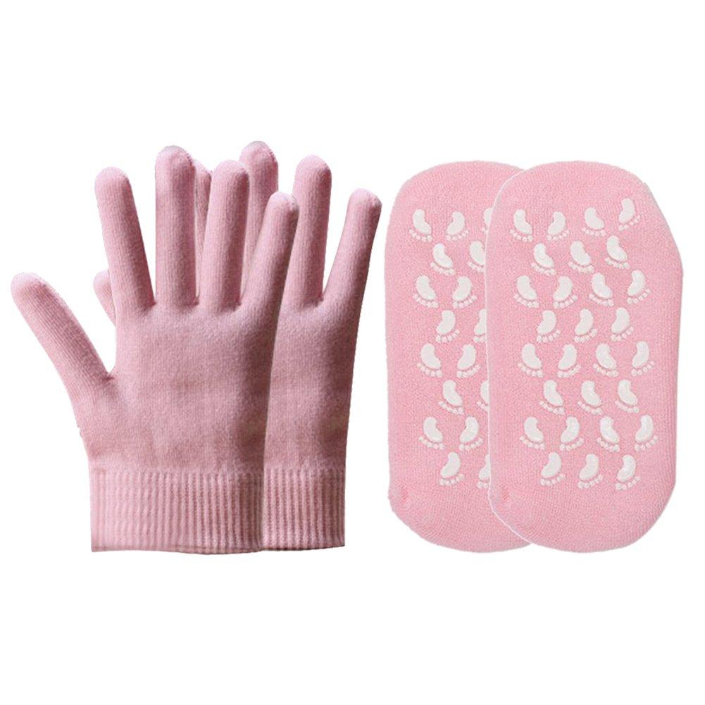 GOWIND6 gel calze e guanti esfoliante idratante Whitening Smooth Care for Dry Heel Cracked di mani e piedi