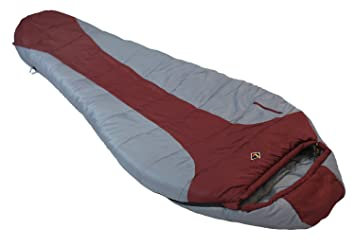 Ledge Sports FeatherLite - Saco de dormir ultra compacto (84 x 32 x 20), Unisex, 2600, granate: Amazon.es: Deportes y aire libre