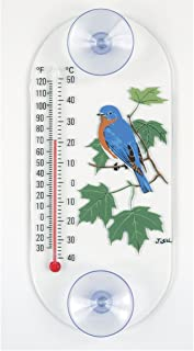 product image for Aspects 203 Bluebird in Maple Window Thermometer