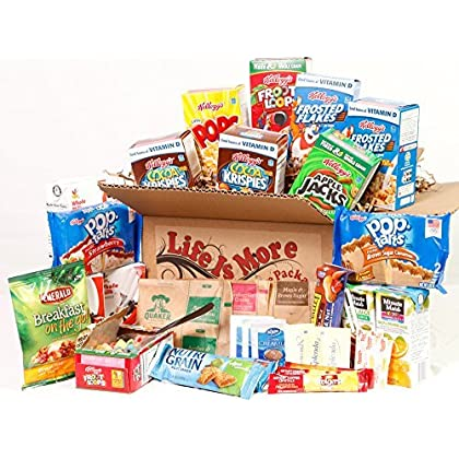 Student Breakfast Care Package Food Basket