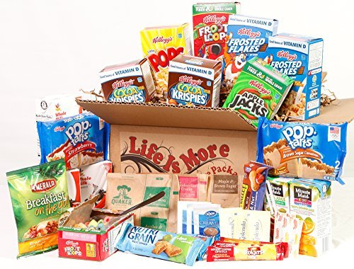 Student Breakfast Care Package / Food Basket - - College Care Package -- Birthday Gift for College Students by Life Is More