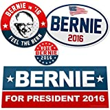 Vipergraphics, Bernie Sanders Sticker Pack - Feel the Bern (4 Stickers)