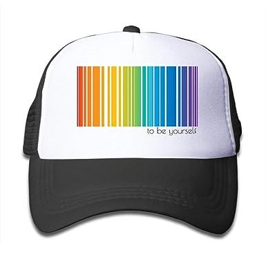 shyly LGBT Pride Rainbow Hiphop Gorra de Running de un tamaño ...