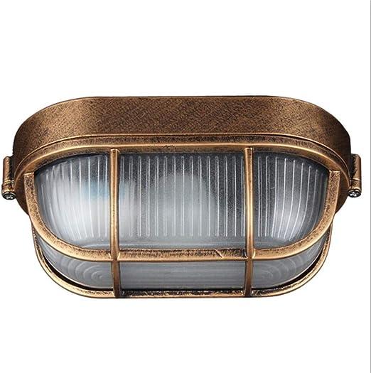 Q-fo Oval Focos Proyector LED Exterior, A Prueba De Agua De Luz De ...