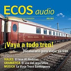ECOS audio - Vocabulario para viajar en tren. 7/2012